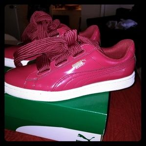 Puma basket hearts